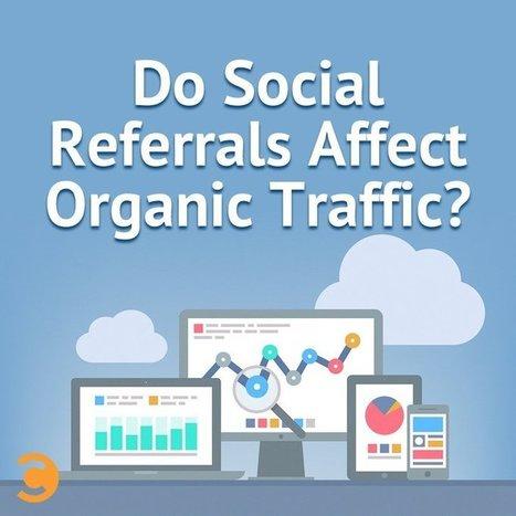 Do Social Referrals Affect Organic Traffic? | Social | Scoop.it