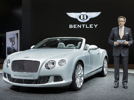 Bentley And Lamborghini To Expand Lineup With Super-Luxury SUVs | Commodities, Resource and Freedom | Scoop.it