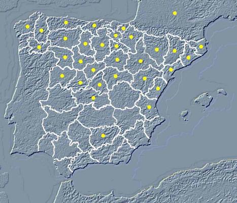 MAPA INTERACTIVO DEL ROMANICO ESPAÑOL - A. GARCÍA OMEDES | GEOGRAFIA SOCIAL | Scoop.it