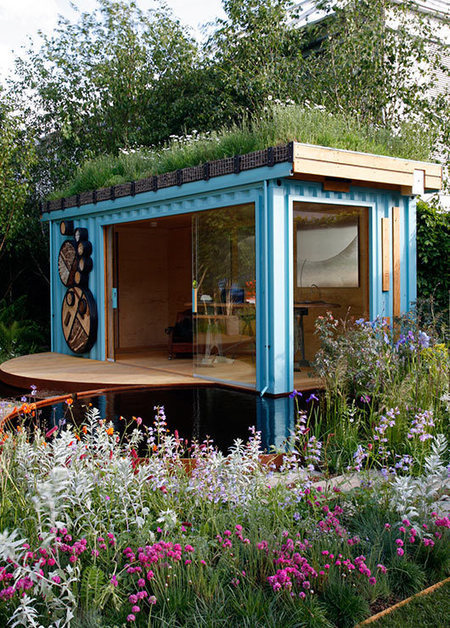 The Green Roof Shelters Container Family | Vertical Farm - Food Factory | Scoop.it