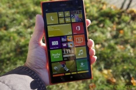 Test du Nokia Lumia 1520 | Geeks | Scoop.it