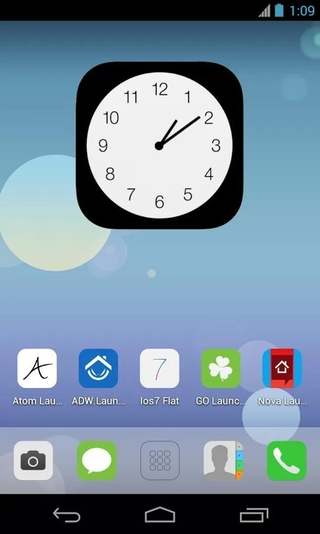 Ios7 Flat (APEX NOVA GO THEME) v1.1.5 | ApkLife-Android Apps Games Themes | Android Applications And Games | Scoop.it
