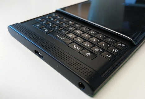 Prise en main d'une unité de test du BlackBerry Priv | Addicts à Blackberry 10 | Scoop.it