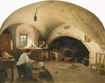 An 18th Century Scottish Kitchen© | social geography | Scoop.it