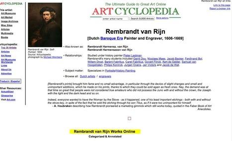 Páginas de Internet para aprender y saber de arte | Rebollarte | Scoop.it