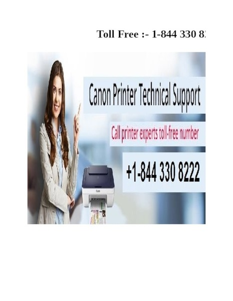 Canon Printer Helpdesk Support Phone Number 1 844 330 8222   PdfSR.com
