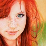 Amazing Portrait Drawn with Ballpoint Pens | stationery | Scoop.it
