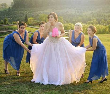 There's finally a way for brides to use the bathroom in their wedding dress | Kickin' Kickers | Scoop.it