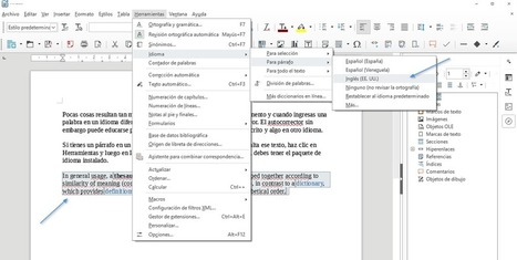 LibreOffice: 11 trucos para aprovechar la edición de documentos al máximo | RECURSOS AULA | Scoop.it