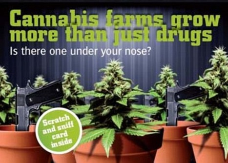 UK Police issue scratch n sniff CANNABIS cards to help the public spot drugs farms | Drugs, Society, Human Rights & Justice | Scoop.it