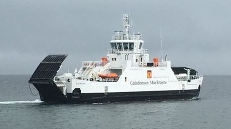 New £12m hybrid ferry handed to CalMac by Ferguson yard - BBC News | Sustainable Tourism | Scoop.it