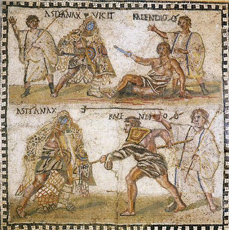 The tainted glory of the gladiator   Roma Antiqua   Scoop.it