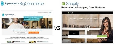 Unanswered Debate: Shopify Vs. Bigcommerce – Which One Will You Use?   E-Commerce Development , e Commerce Web Solutions   Scoop.it
