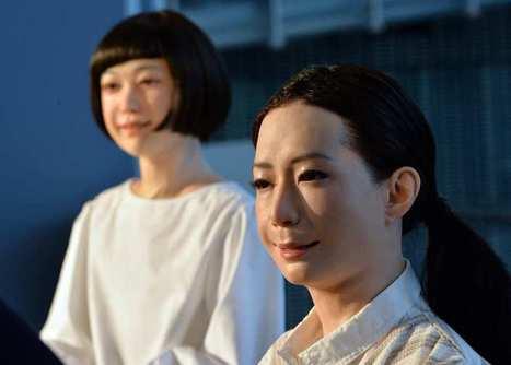 (Vidéo) Au Japon, deux androïdes plus vraies que nature | Quantum Quantique | Scoop.it
