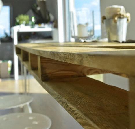Diy Mesa Comedor.Pallet In Reciclaje Decorativo Diy Restauracion