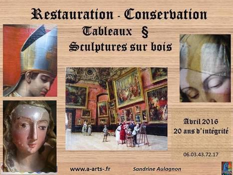 Restauration tableaux | A-arts-sandrine | Scoop.it