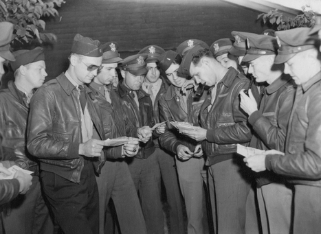 10 Incredible Photos Of American Servicemen At Duxford In The Second World War | World at War | Scoop.it