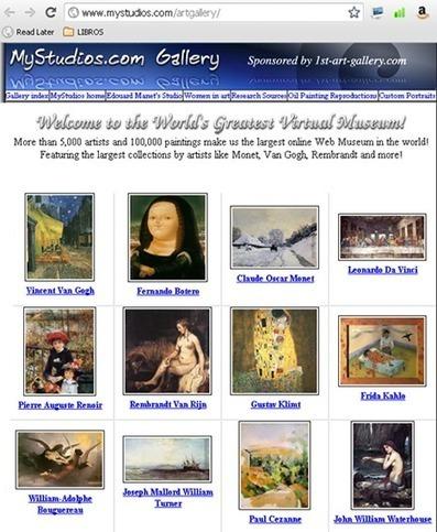 Eduteka - Museos de arte en la Web | La biblioteca de Alejandría está en la Red | Scoop.it