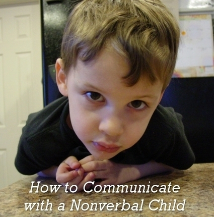 How to Communicate with a Nonverbal Child #Autism | IPad Applications for The Autism Community | Scoop.it