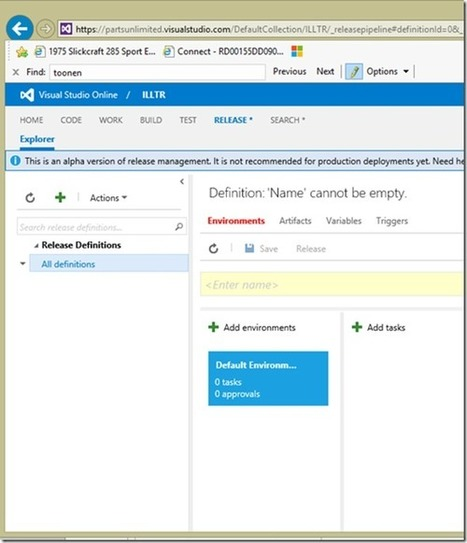 Setting up a continual deployment with Visual Studio Release Management - Ozzie Rules Blogging - Site Home - MSDN Blogs   Visual Studio ALM   Scoop.it