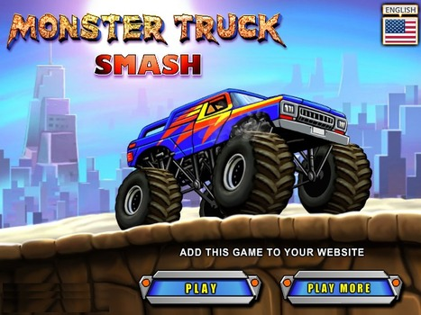 Monster Truck Smash - Play Your Best Racing Games | Action Games | Scooby Doo Games | Avatar Games | Scoop.it