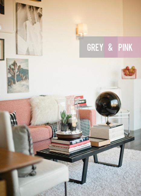 Colour Combination: Grey & Pink | Aussiemandas Auspicious | Scoop.it