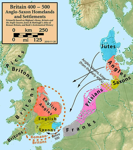 25 maps that explain the English language | British life and culture | Scoop.it