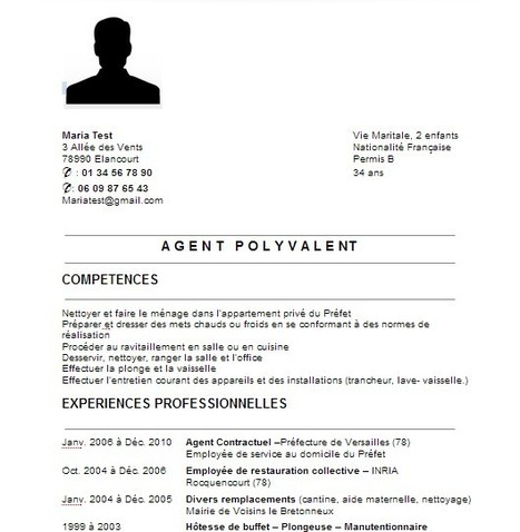 CV simple en Français   Google Driv