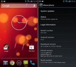 Google Play Edition ROMs for HTC One and Galaxy S 4 | Android Discussions | Scoop.it