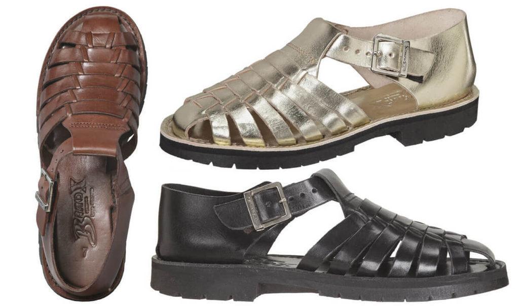 511b0046667b Leather Huaraches