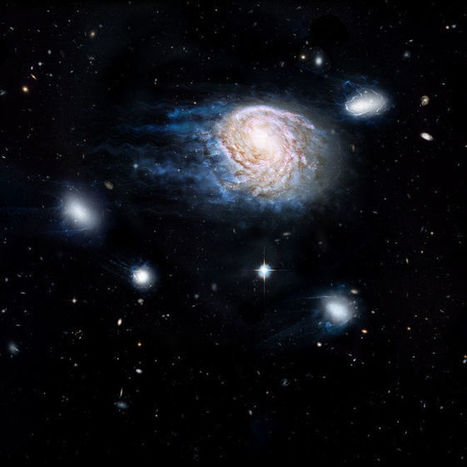 Cosmic Whodunit: Gas Stripping May Be Killing Galaxies | SCIENCE NEWS | Scoop.it