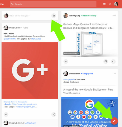 Google+ Changes: What Marketers Need to Know Social Media Examiner | Social Media Examiner | Social Media Magic | Scoop.it
