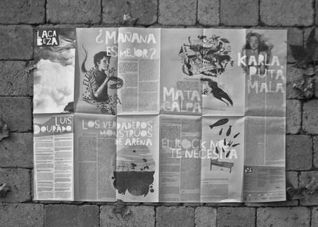 Producida por una manga de locos, circula LACABEZA 9 | Libro blanco | Lecturas | Scoop.it
