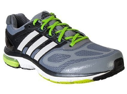ffc764877b1b6 Adidas Supernova Sequence 6 Running Shoe - Grey White Green - Mens - 8