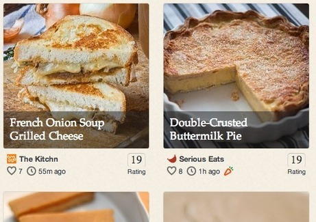 Pinterest gets serious about recipe inspiration with Punchfork buy | Better know and better use Social Media today (facebook, twitter...) | Scoop.it