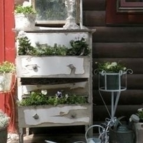 Recycle and upcycle a dresser   What a Creative Garden   Scoop.it