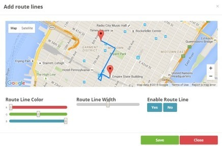 MapBuildr. Un outil pour créer des cartes personnalisées – Les Outils Tice | Le Web social au service de l'entreprise | Scoop.it