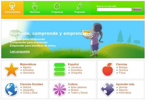 Encicloabierta – Cientos de Recursos Educativos Multimedia en español | Educación - FECCOO | Scoop.it