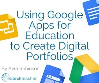 Using Google Apps for Education to Create Digital Portfolios from Avra Robinson | PLNs for ALL | Scoop.it