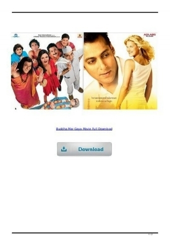 free download Buddha Mar Gaya full movie in hindi