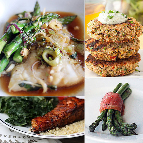 Reel Delicious: 20 Healthy Fish Recipes | The Man With The Golden Tongs Goes All Out On Health | Scoop.it