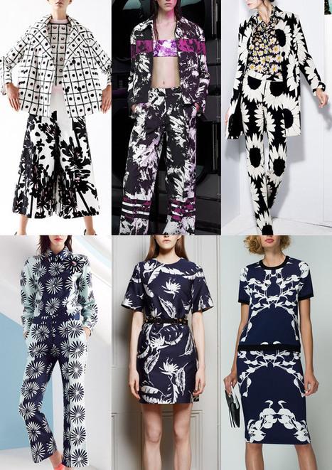 Resort 2015 - Catwalk Print & Pattern Trend Highlights Part 2 | @Patternbank | BKstylecode-36-28-42 | Scoop.it