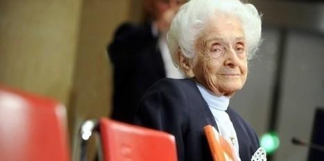 Disparition à 103 ans de la neurologue Rita Levi-Montalcini | (en)quête de soi | Scoop.it