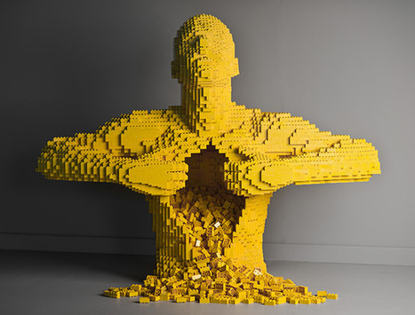 Art of the Brick: Nathan Sawaya's LEGO Solo Show in New York | Colossal | PaginaUno - Arte&Design | Scoop.it