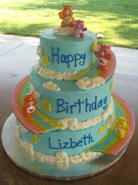 Surprising Care Bears Birthday Cake And Cupcake Ideas Mo Birthday Cards Printable Benkemecafe Filternl