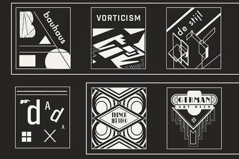 The History Of Graphic Design, In Icons | illustration | Scoop.it