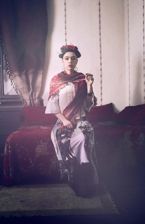 Modern Tribute to Artist Frida Kahlo's Powerful Self-Portraits - My Modern Metropolis   Le It e Amo ✪   Scoop.it