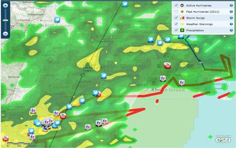 ESRI's Interactive Hurricane Map | Geography Education | Scoop.it