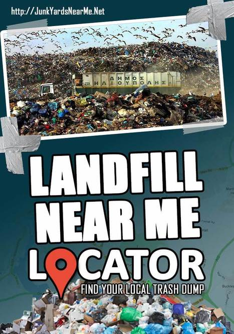 Landfill Near Me Locator - Find Your Local Tras
