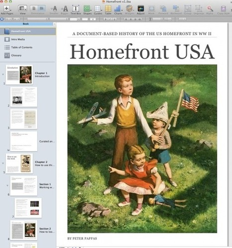 Reflections on Working with iBook Author | Creative Tools... and ESL | Scoop.it